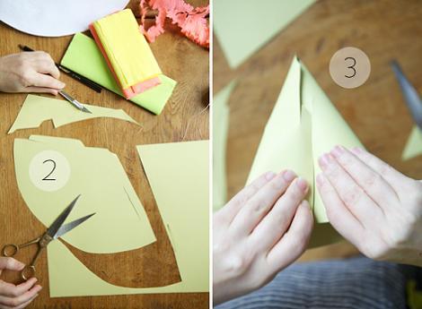 Cómo hacer sombreros de papel