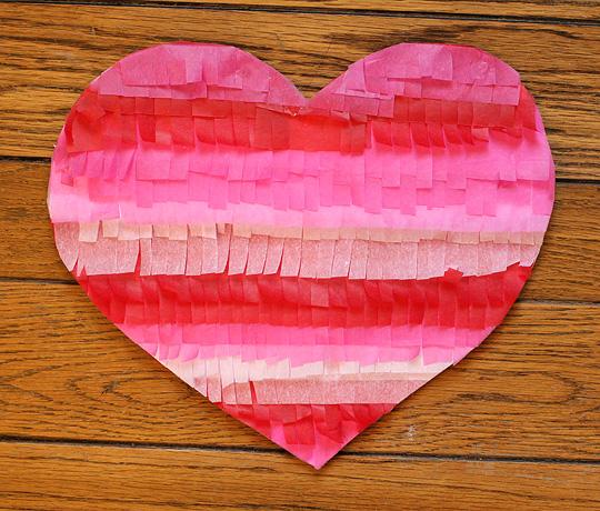 Corazón decorado