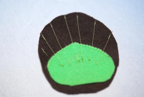 disfraz casero pavo real coser