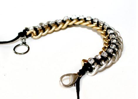 hacer-pulsera-de-cadenas-y-strass-6