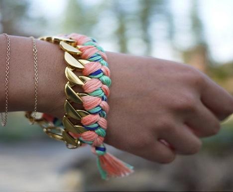 pulseras de colores resultado