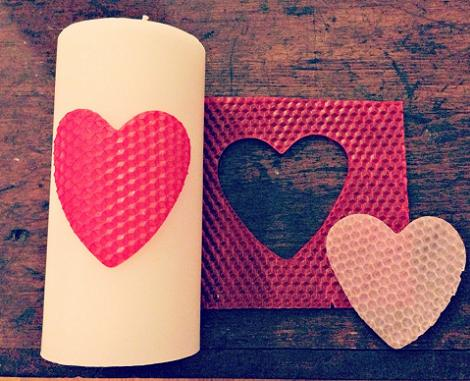Velas de San Valentín