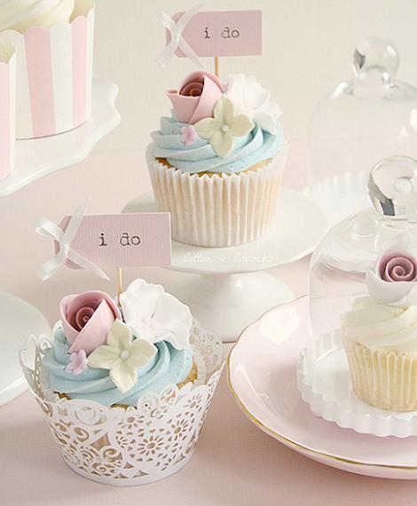 Cupcake de boda