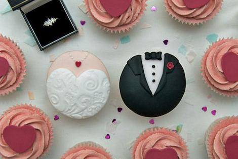 Cupcake novios