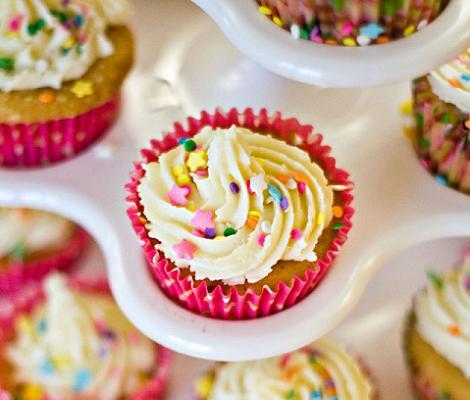 Cupcakes de fiesta