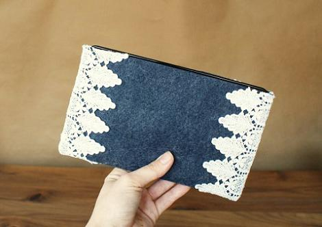 Funda de fieltro para Kindle