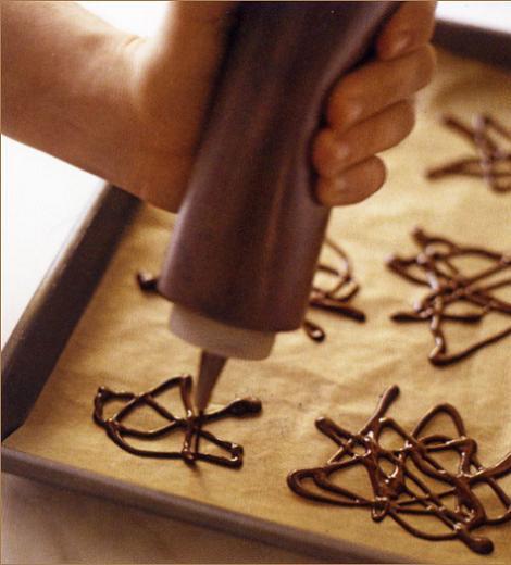 Hacer figuras de chocolate