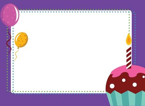 invitaciones cumpleanos imprimir cupcake