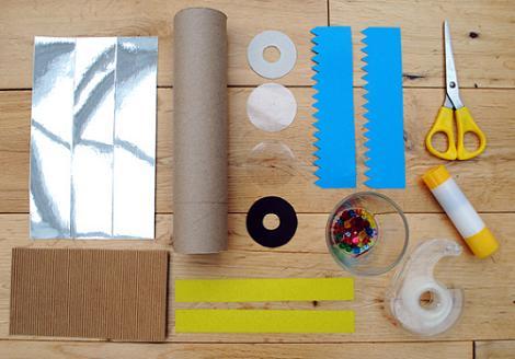 Materiales caleidoscopio