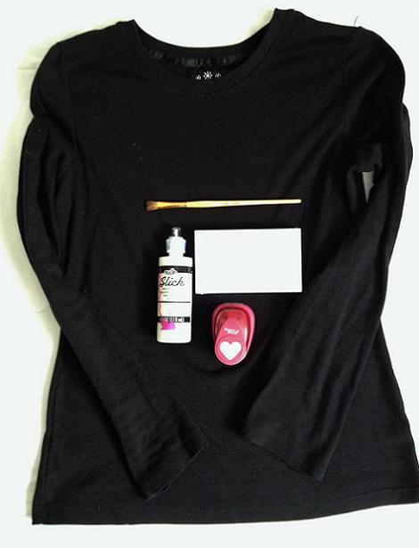 Materiales camiseta