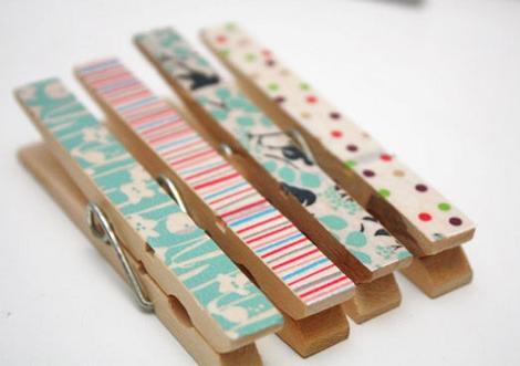Pinzas washi tape