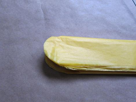 Pompones de papel paso 4