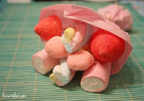 regalos san valentin ramo de chuches