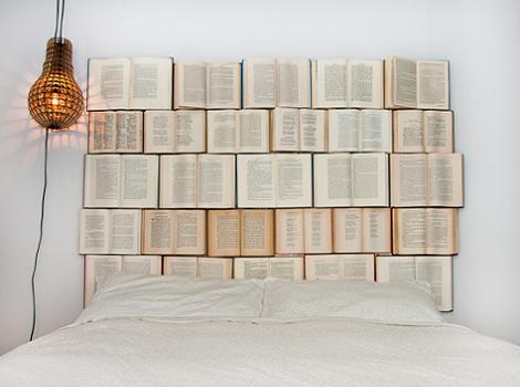 Cabecero de libros