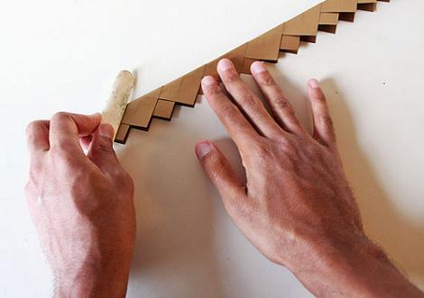 Corona de papel para hacer