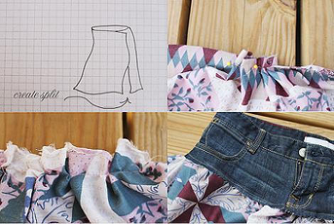 Falda larga DIY