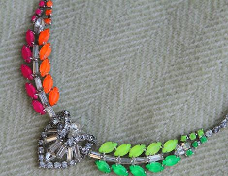 hacer collares neon