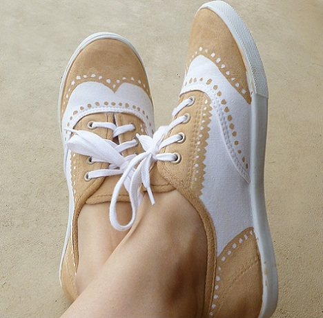 pintar zapatillas resultado