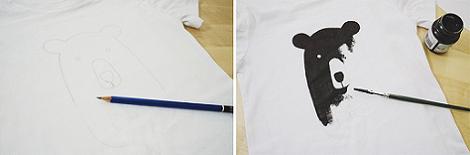 Camiseta infantil DIY
