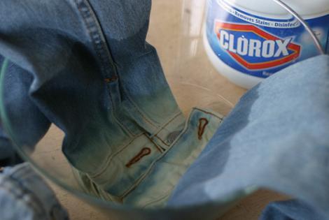como desteñir ropa