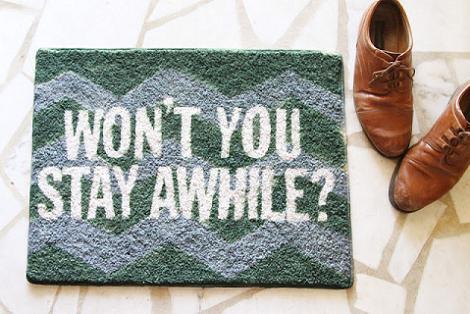 Pintar la alfombra