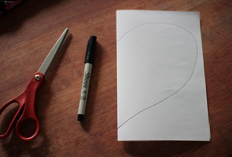 Boceto corazón