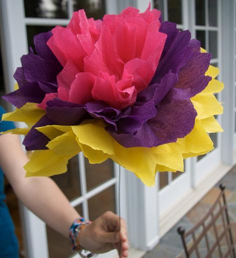 Flores de papel pinocho