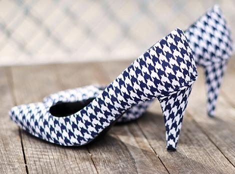 Forrar zapatos DIY