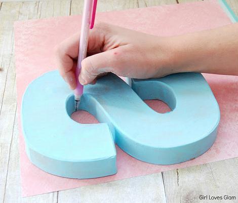 Hacer letras decorativas