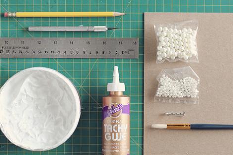 Materiales para hacer broche de lazo