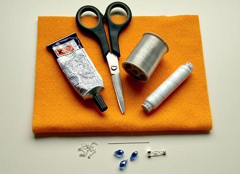 Materiales para hacer un broche