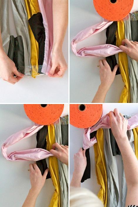 Hacer alfombra con telas recicladas
