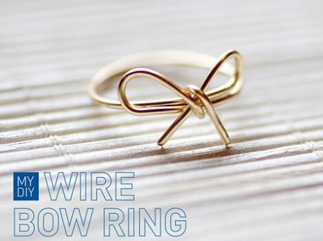 anillo alambre rapido