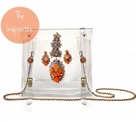 bolso trasparente moda decoracion