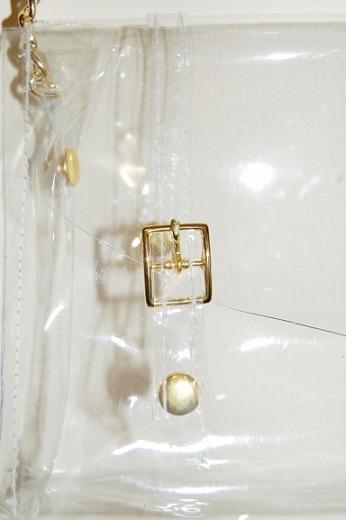bolso transparente moda detalle