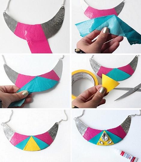 collares reciclados moda verano proceso