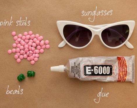 gafas pin up verano materiales