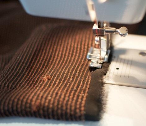 hacer falda cruzada moda lentejuelas coser
