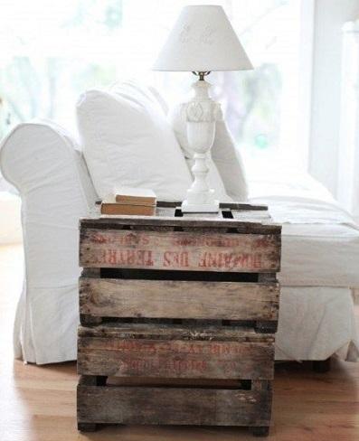 muebles faciles palets mesa