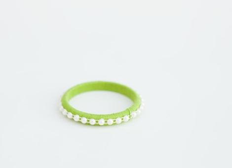 pulseras neon verano perlas