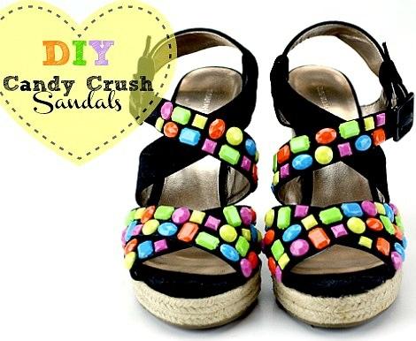 sandalias verano diy