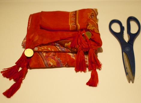 hacer kimono fular materiales