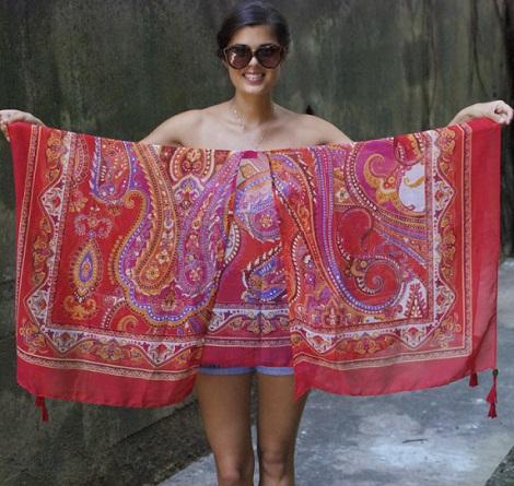 hacer kimono fular resultado