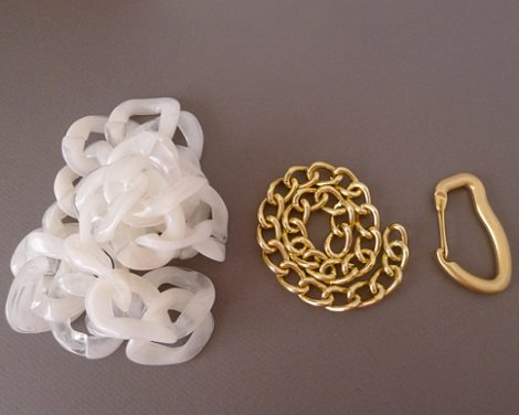 materiales para hacer un collar paso a paso