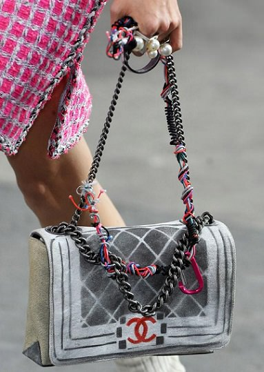 bolso chanel diy