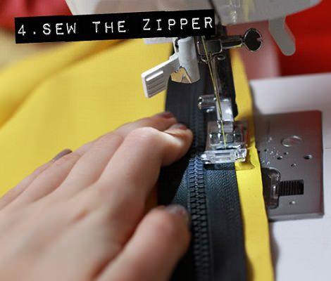 máquina coser clutch piel