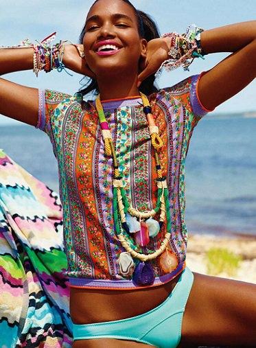 collar étnico proenza schouler