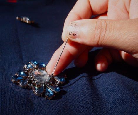 coser apliques