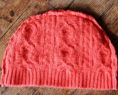 coser gorro de lana