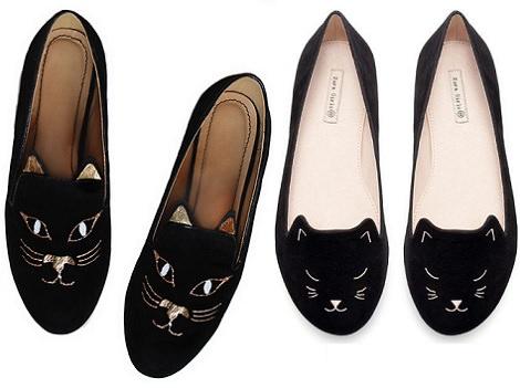 slippers caseros gato